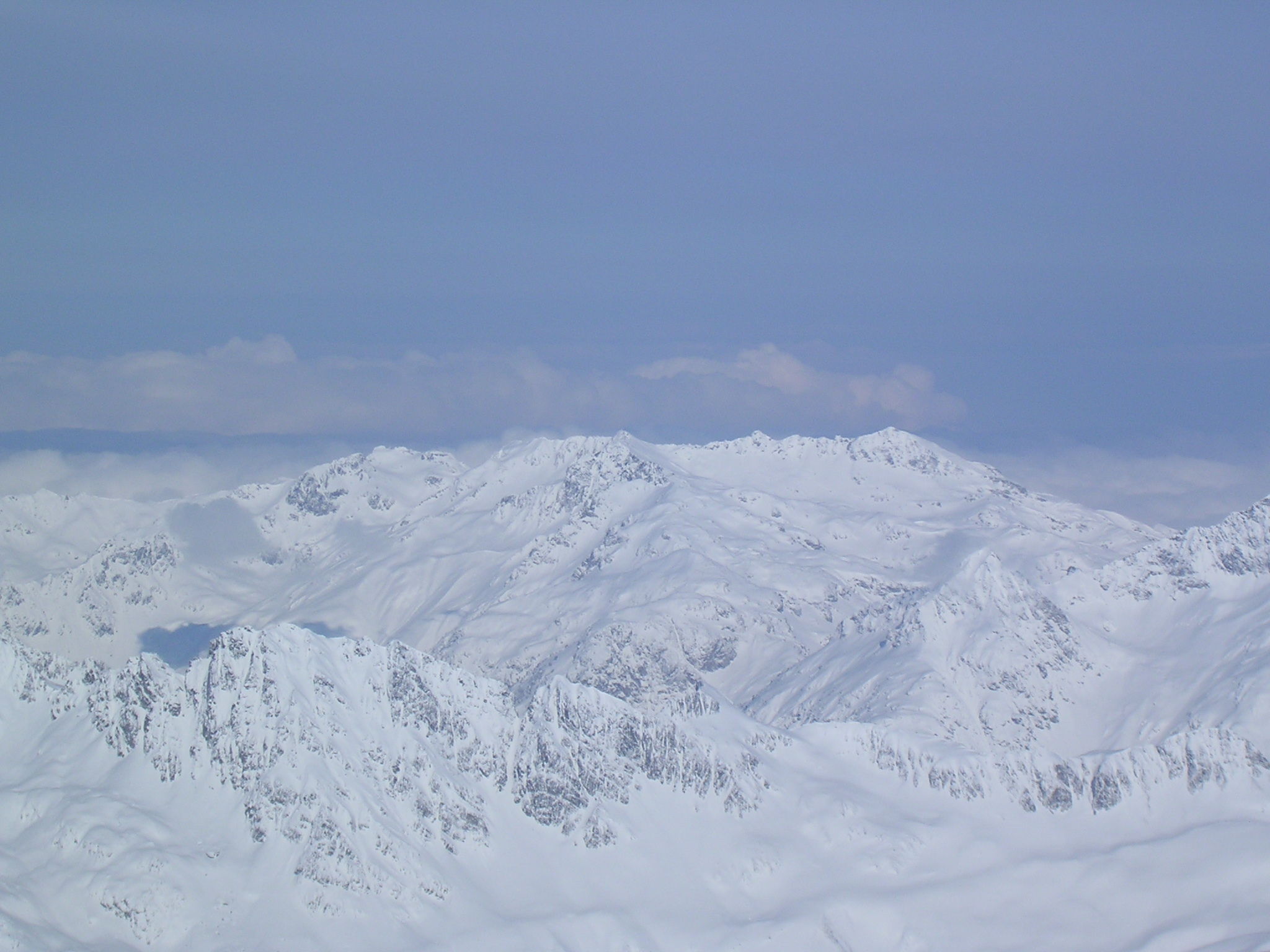 Le Mont Rose en Italie vue du Pic Blanc