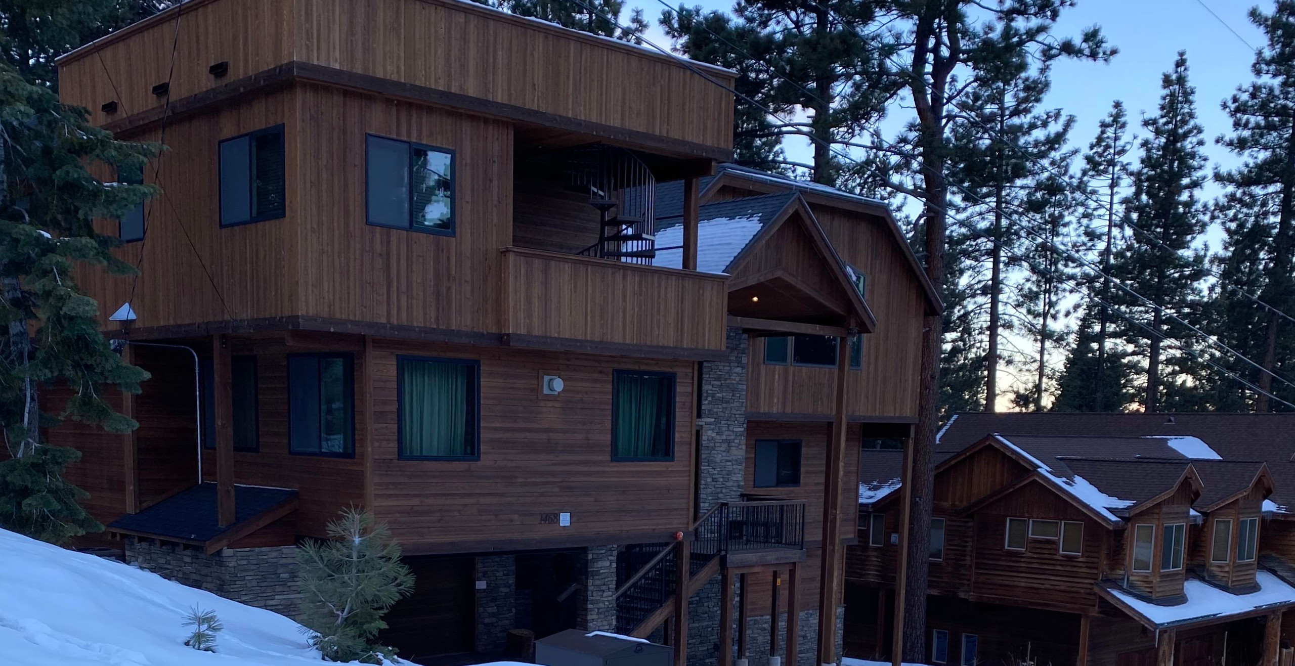 I thought this cabin was so nice