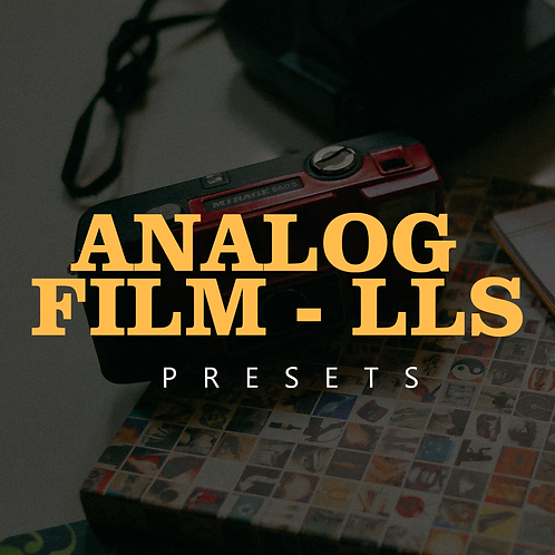 Analog Film LLS - presets