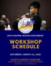 80th Central Region Conference Workshop Schedule