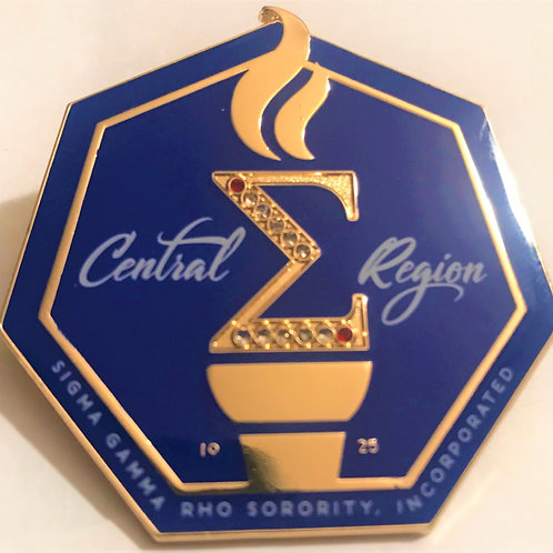 Central Region Logo Lapel Pin and Scarf