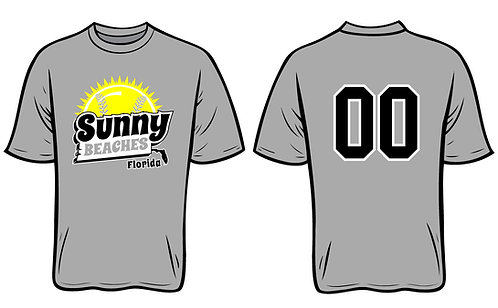 Sunny Beaches Softball - GREY