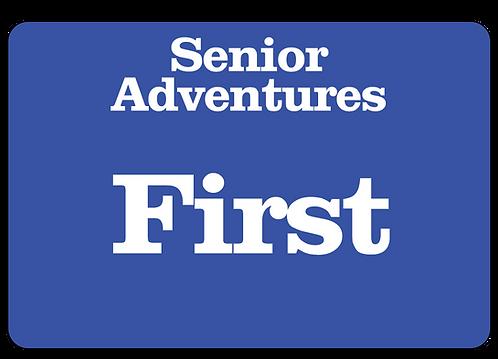 Senior Adventures Name Tag