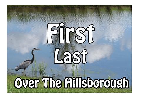 Over the Hillsborough Name Tag