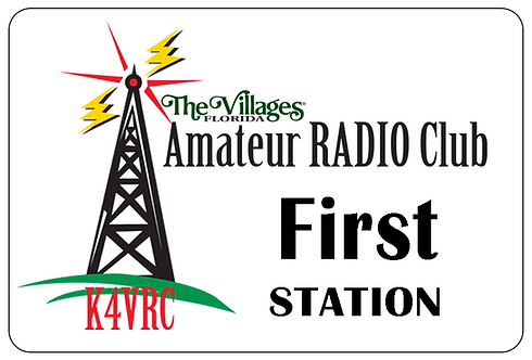 Amateur Radio Club Name Tag