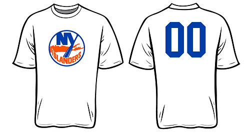 NY Islanders Softball -WHITE