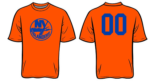 NY Islanders Softball -ORANGE