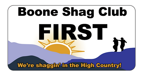 Boone Shag Club Name Tag