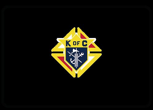 Knights of Columbus Name Tag