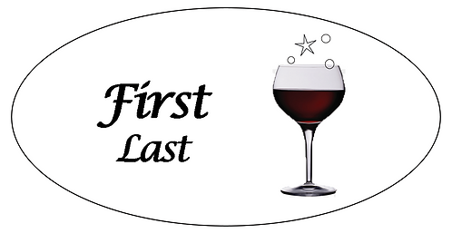 Wine Name Tag