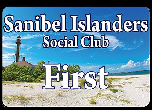 Sannibel Islanders Social Club Name Tag