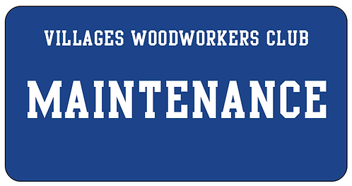 Villagers Woodworkers Name Tag
