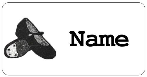 Tap Dance Name Tag