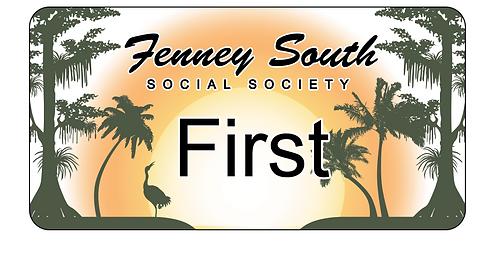 Fenney South Social Society Name Tag