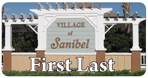 Village of Sanibel Name Tag