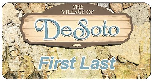 Village of DeSoto Name Tag