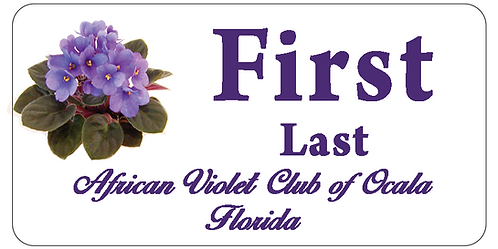 African Violet Club