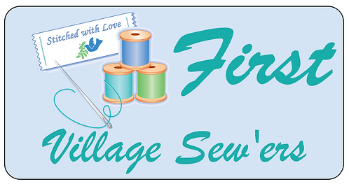 Village Sew'ers Name Tag