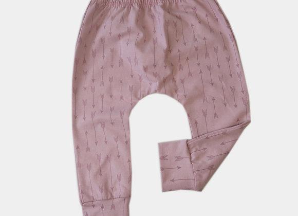 Legging indien rose (6 à 12 mois)