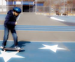YA, Skateboard