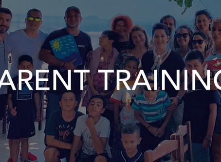 First Parent Training Seminar