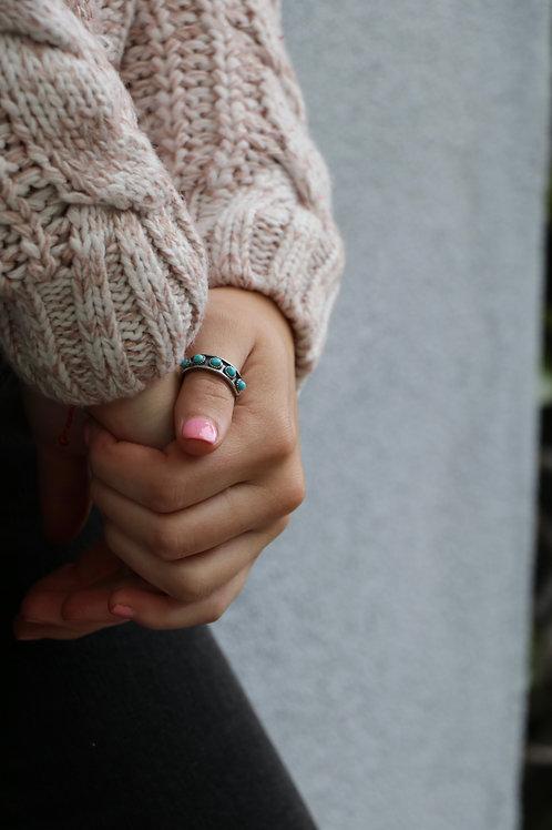 Hachi Turquoise Ring