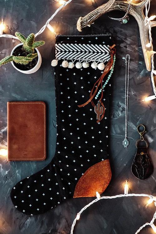 Stocking BLACK & SUEDE