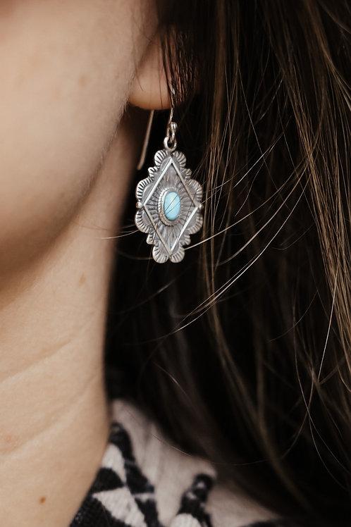 Leif Turquoise Earrings