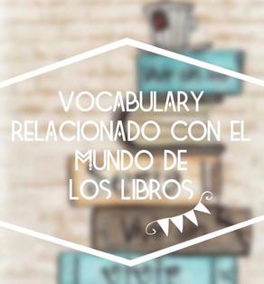 Vocabulario relacionado con el mundo de los libros