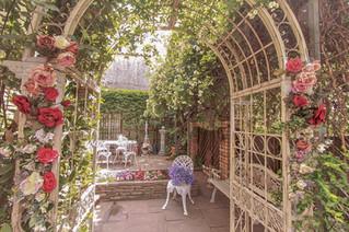 フランス製ガーデンアーチ