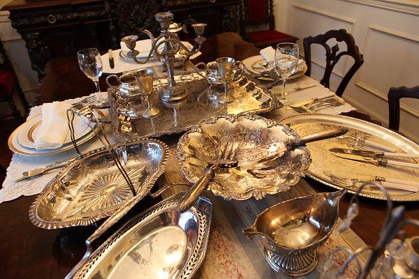 英国製アンティーク銀食器