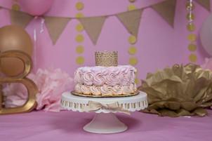 Bella's Cake Smash!  |  Houston Childrens Photography