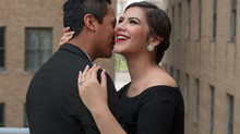 Esti & Braulio  |  Downtown Houston Engagement Session