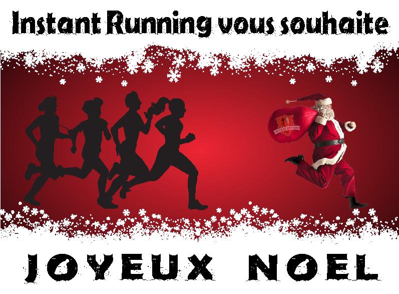 Visuel de Noël Instant Running