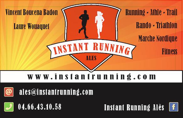 Carte de visite Instant Running Alès