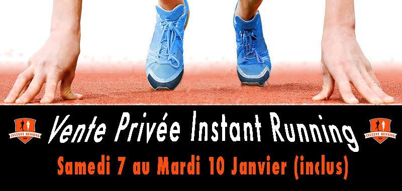 Visuel Vente Privée Instant Running