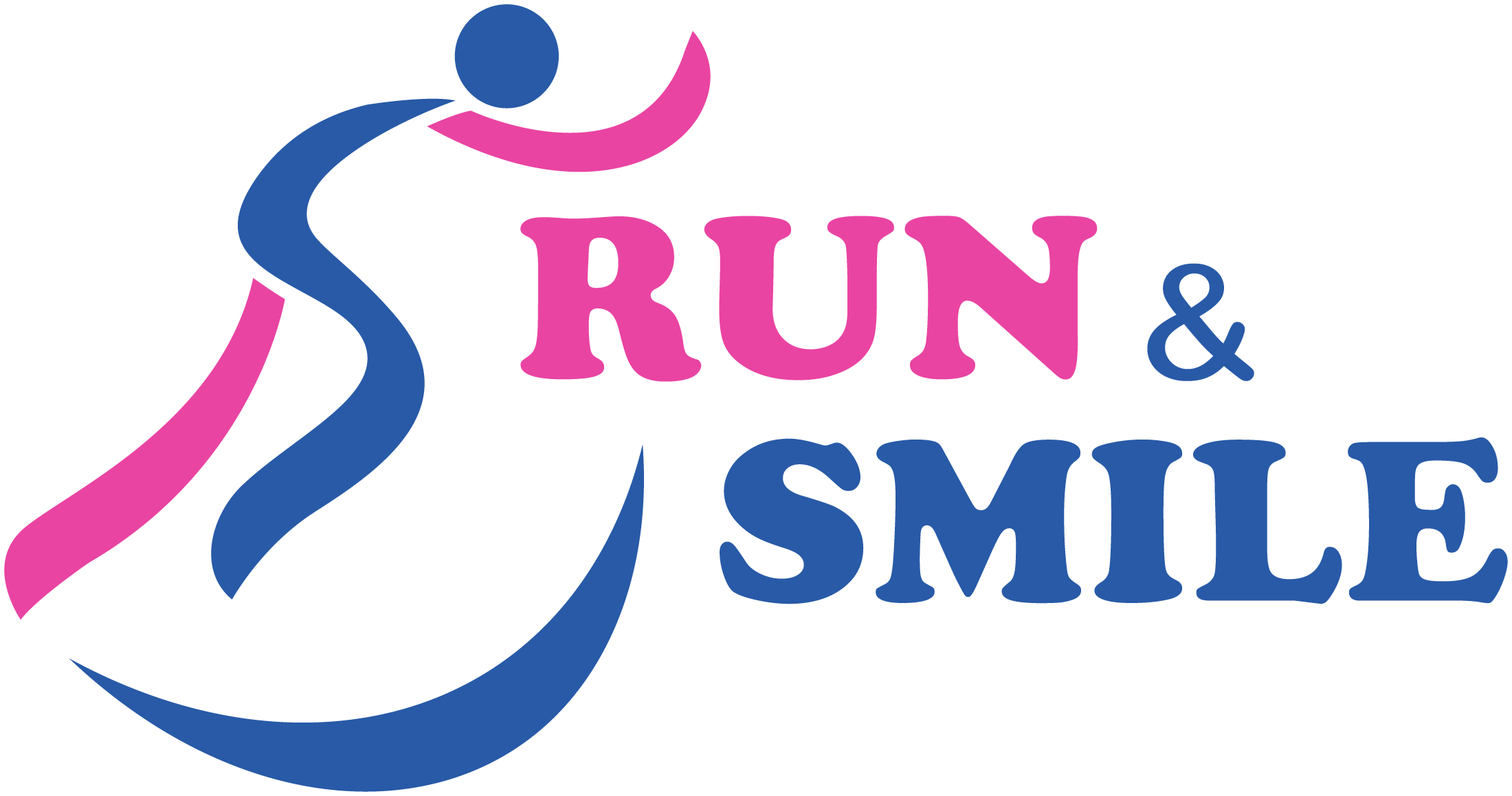 Logo Run & Smile (Fond Blanc sans cadre)