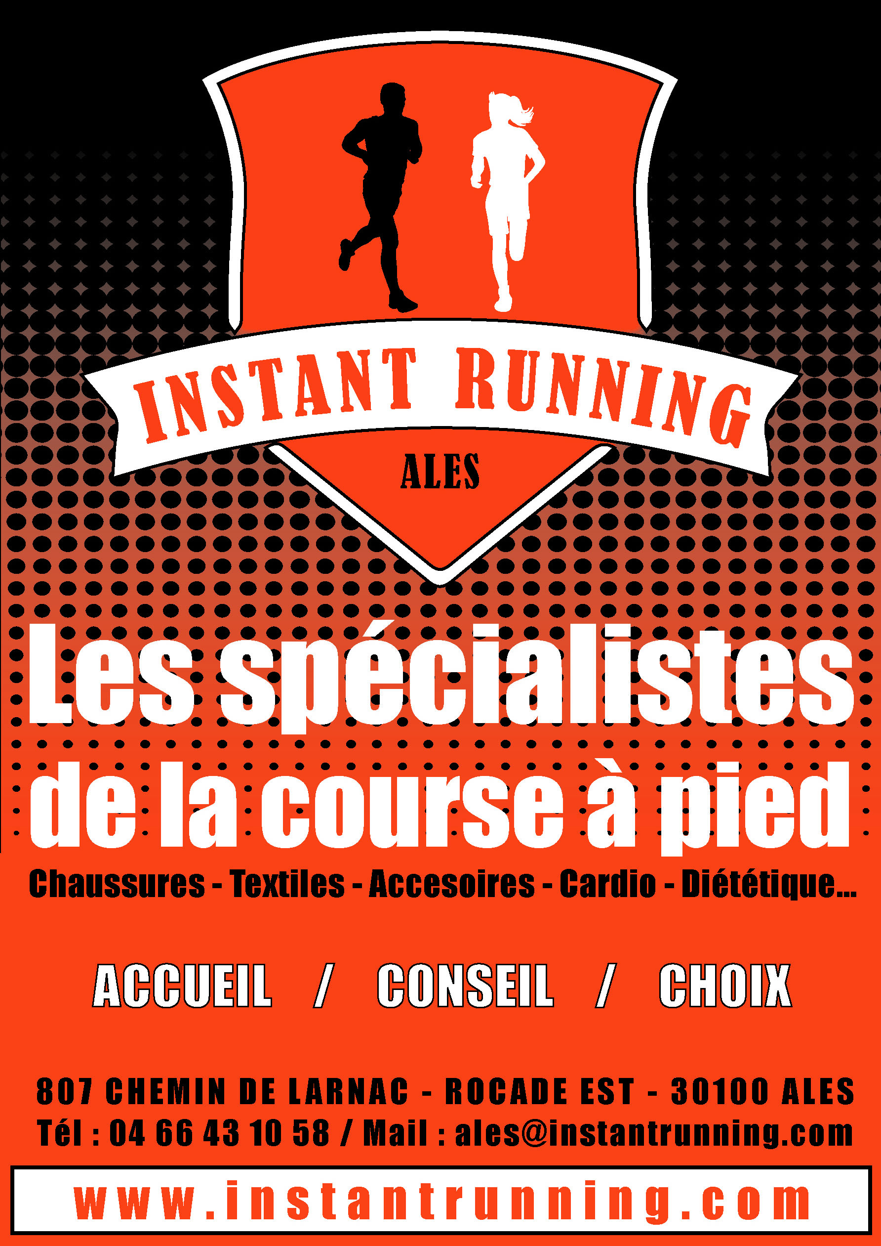 Flyer Instant Running Alès