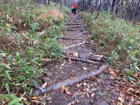 たまには山に恩返し in 知床 / 近自然工法で遊歩道を直す