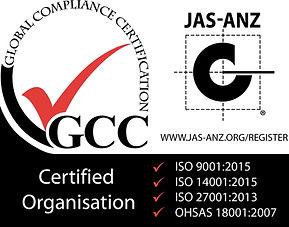 ISO 9001 2015, 14001 2015, 27001 2013, O