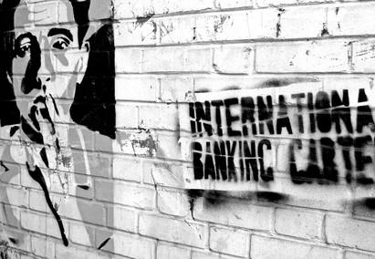 Banks war on humanity