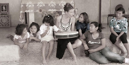 Chant improvisé orphelinat Pérou