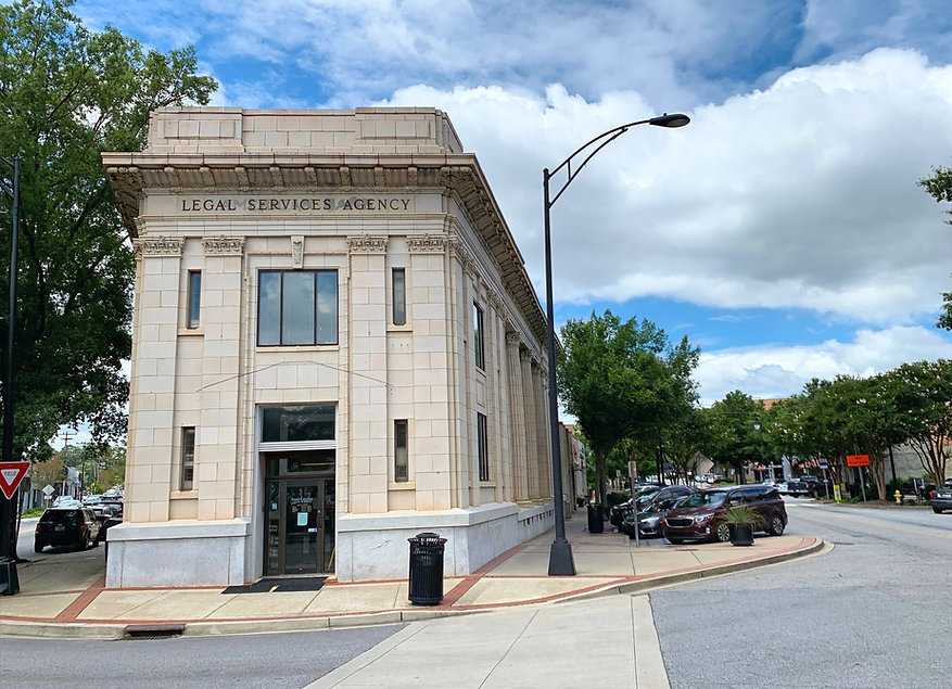 The Greenville Branch of South Carolina Legal Services, located in downtown Greenville, SC.
