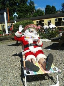 father christmas sunbathing.jpg