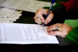 3er Paso: Las firmas