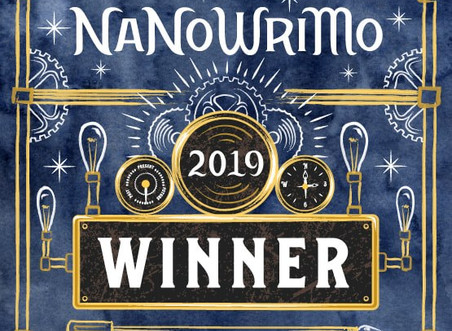 "NaNoWriMo 2019 is ""In The Books""!"