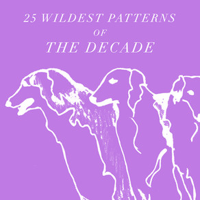 25 WILDEST PATTERNS OF THE DECADE (2010-2019)