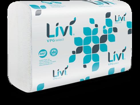 Livi White Multi Fold Towel