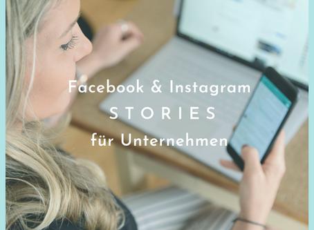 Instagram & Facebook Stories für Unternehmen
