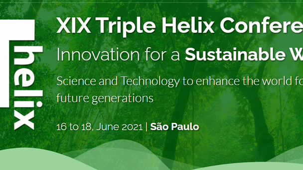 XIX Triple Helix Conference Innovation for a Sustainable World
